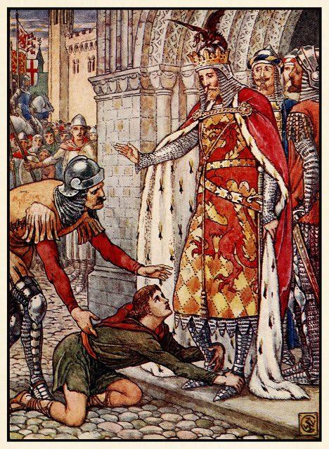 Mladi Owen roti kralja.