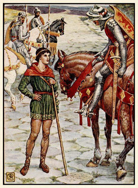 Mladi Parsifal izprašuje gospoda Owena.