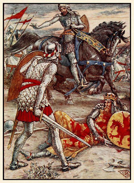 Sir Lancelot prepove siru Borsu usmrtiti kralja.