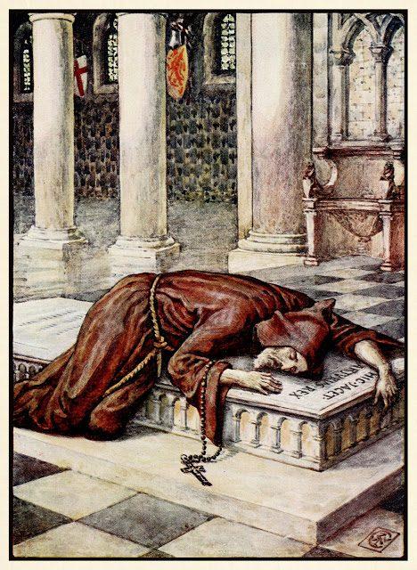 Smrt sira Lancelota.