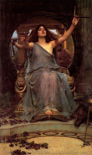 Odisej in Kirka