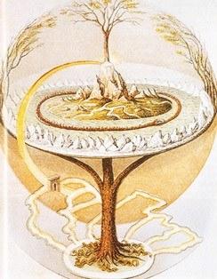 Yggdrasil, Drevo Sveta v nordijski mitologiji