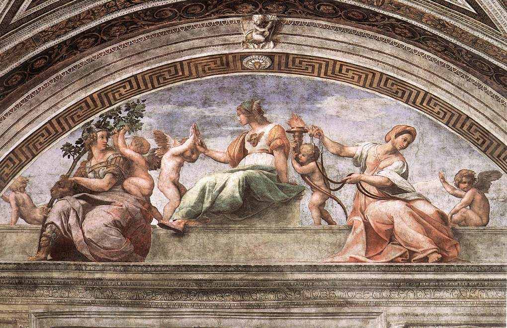 Umetnost-Raffaelo-kardinalne-vrline