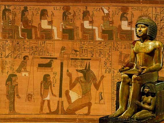 modrost in simbolizem starodavnega egipta