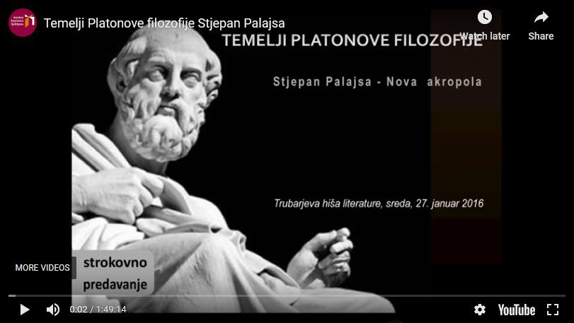 Nova Akropola - predavanje-temelji-platonove-filozofije