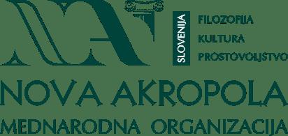 Nova Akropola Slovenija Logo Footer